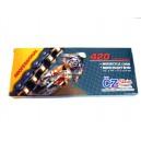 Řetěz ČZ MX 420/128 Zlatý