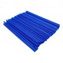 Návleky na dráty pitbike modré